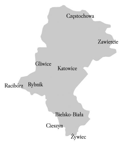 mapa działania komornika markockiego